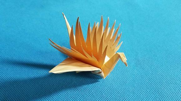 折纸王子教你折纸择天记寻风鹤的折法 玫瑰寻风鹤怎么折